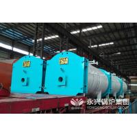 China Light Weight Gas Fired Hot Water Boiler Less Heat Loss For Bath Center wholesale