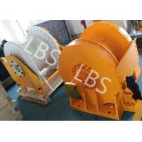China Small Size Tower Crane Winch / Winch Drum with Lebus Groove or Spiral Groove wholesale
