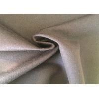 Quality Heavy Weight Warm Woven Wool Fabric Customized Size Wool Crepe Fabric F001F for sale