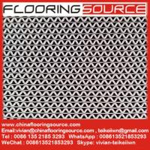China PVC wave design heavy duty wet area floor matting rolls without backing drainage matting wholesale