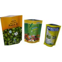 China LDPE Retort Doypack Resealable Stand Up Food Packaging Bag With Zipper wholesale