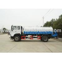 China Flexible Sprinkling Water Tank Truck , Commercial Water Truck Wide Sprinkling Area wholesale