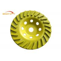China Wet Grinding 80mm Grinding Cup Wheels For Hard Granite And Engineered Stone wholesale