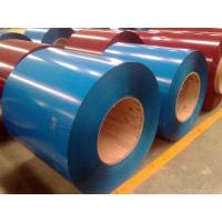 Buy cheap EN10142 RAL9002 Color Coated Steel Coils , White Prepainted PPGI Steel Coil from wholesalers