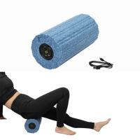 China Vibrating 5 Speed Electric Foam Roller , Electric Muscle Roller Washable Easy Use wholesale