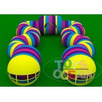 China Colorful Inflatable Model Tunnel Bouncer Giant Inflatable Combo wholesale
