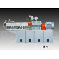 China Color Masterbatch Twin Screw Extrusion Machine Good Dispersion Screw Design wholesale