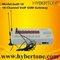 Buy cheap 16 SIM Cards GoIP GSM Gateway GoIP-16 Quad band IMEI chang SMS for VoIP from wholesalers