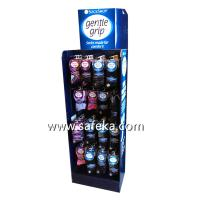 Quality Socks POP Corrugated Pegboard Display,Hook Displays in Store for sale