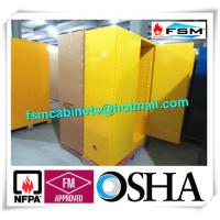 China Venting Industrial Safety Cabinets , Flammable Goods Storage Cabinets wholesale