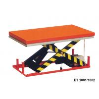China 1000 Kg Vertical Electric Motorcycle Lift Table Mini Scissor For Cargo wholesale
