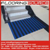 China PVC S Mesh Floor Mat PVC Z Web Mat Non Slip for Entrance and Wet Areas wholesale