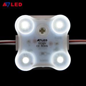 China Adled Lighrt 4 leds square 1.8W samsung 2835 led module korea for led glow sign boards wholesale