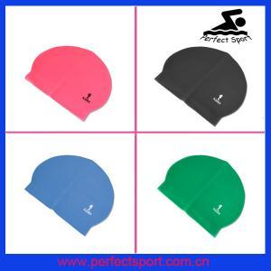 China swimming hat,latex swim caps,flag swim cap on sale