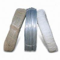 China Electro-galvanized Iron Wire with 10 to 25% Elongation Rate and 30 to 70kg Tensile Strength wholesale