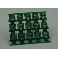 China RoHS HASL 4 Layer Rigid PCB Board Fabrication Finish Green Solder Mask wholesale