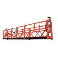 China Temporary Suspended Working Platform Safety , Hanging Work Platforms 800KG Loading Capacity wholesale