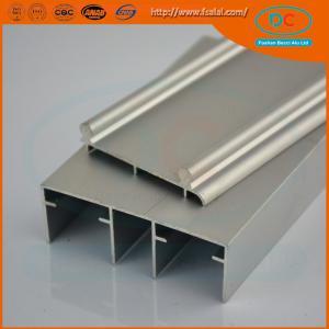 China Aluminum sliding track profile for window and doors, sling window profile wholesale