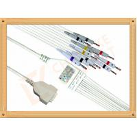 Wholesale GE Marquette 10 ecg lead wires Banana IEC Solid Conductor Type from china suppliers
