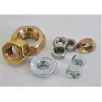 China High Strength Flange Hex Nut M6-M48 DIN 80 Yellow And White Colors For Molding Machine wholesale