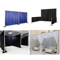 China 10ftx10ft backdrop pipe and drape for wedding aluminum backdrop stand pipe drape stage on sale