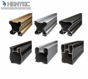 China Steel Polished Aluminum Alloy Window Extrusion Profiles With Fininished Machining wholesale