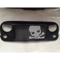 China Jeep Jk Wrangler Spartan Grille_Skull Material: ABS Plastic wholesale