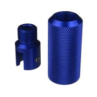 China DB TAC Sound Forwarder 3/4×16 Thread Combo With Muzzle Brake Ruger 1022 Adapter Blue Color wholesale
