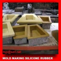 China Make concrete statues mold by silicone rubber wholesale
