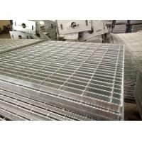 China Anti Slip Mild steel Steel Bar Grating / Q235 A36 SS304 Stainless Steel Floor Grating wholesale