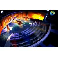 China Customized High Definition 5D Cinema Equipment With Curved Screen wholesale