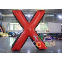 China Team Game Inflatable Paintball Bunkers Inflatable Archery Tag Large X Shooting Bunker wholesale
