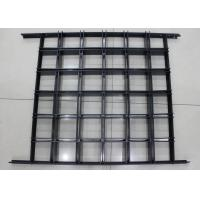 China Install with Black T bar Frame Metal Aluminum grid ceiling 600 x  600 Lattice wholesale