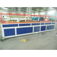 China WPC Ceiling Plastic Profile Extrusion Line , WPC PVC Floor Profile Production Line wholesale