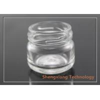China Custom Made 15ml Small Clear Glass Bottles for Manual Candy , Jam wholesale