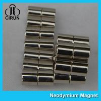 China Long Life N40H Neodymium Permanent Magnets Cylinder For Medical Products wholesale