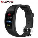 China LEMFO LT02 Smart Wristband Multifunctional Smart Bracelet 0.96-inch Touch Screen Smart Wristband Heart Rate Monitor wholesale