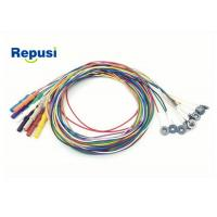 China Disposable EEG cup Electrode REPD-1.5PC Plated AgCl with 10 colors wholesale