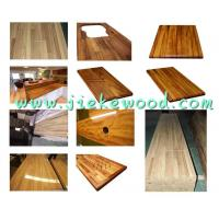 China sell iroko  kitchen worktop wholesale