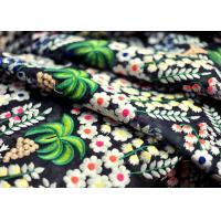 China Deluxe Floral Multi Colored Lace Fabric for Heavy Embroidered Haute Couture Costume wholesale