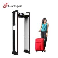 China Super Sensitivity Archway Metal Detector Gate , Door Frame Metal Detector For Hotel Security wholesale