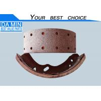 Buy cheap 8972010610 ISUZU Brake Lining With Shoes K4459 100mm Wide 12 Rivet Holes from wholesalers