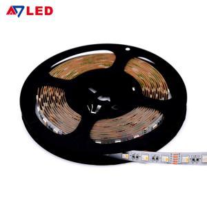China Adled light wholesale high lumen 12 volt 24 volt 14.4w/m 60leds 5050 smd rgbw led strip wholesale