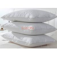 Hotel style pillows feather cotton fiber filling fabric for Hotel pillows for sale philippines