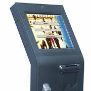 China Multimedia information lcd touch screen 19inch lobby interactive kiosk for railway station, airport wholesale