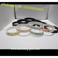 China promotion high quality Europe Regional Feature and Folk silicone wristbands wholesale