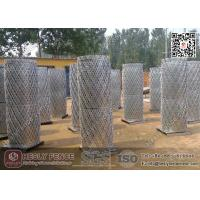 "China 2.2mX6.0m Welded Razor Mesh Fencing 3""X6"" Diamond Aperture 