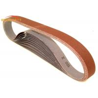 China Polishing Plywood Metal Sanding Belts 16 - 1000 Grit With Lap / Butt Joint wholesale