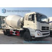 China 4M3 6 wheels carbon steel Dongfeng Concrete Mixer Truck with Italy pump for sale on sale