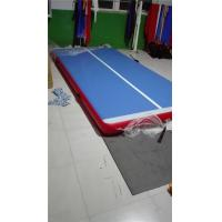 China Compact Air Floor Gymnastics Mat , 8m Thick Gymnastics Tumbling Mats wholesale